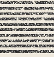 distressed stripe pattern in black and cream vector image