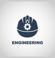 engineering logo icon design vector image