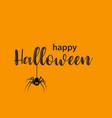 funny halloween greeting card vector image