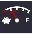 Oil Empty Pig Bank vector image vector image