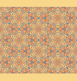 ornamental ethnic seamless pattern vector image