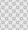 Slim gray hatched diagonal spikes turning vector image