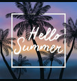 summer time background wit vector image vector image