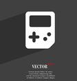 Tetris icon symbol Flat modern web design with vector image