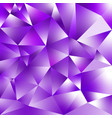 abstract irregular polygonal background purple vector image vector image