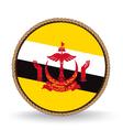 Brunei Seal vector image vector image