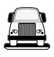 cargo truck icon image vector image vector image