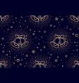 christmas pattern seamless pattern vector image