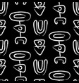 ethnic fashion seamless pattern vector image