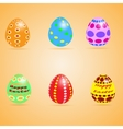 Funny Eater Eggs vector image vector image