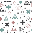 Geometric scandinavian seamless pattern Textile vector image vector image