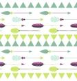 Tribal arrow seamless pattern vector image