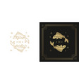 zodiac pisces horoscope sign line art silhouette
