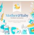 baby accessories poster design newborn