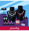 Jewelry Shop Banner vector image vector image