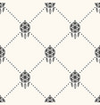 seamless geometric pattern with dream vector image