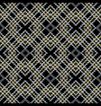 striped embroidery check seamless pattern vector image