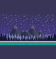 fantasy mysterious seamless background for mobile vector image
