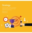 Data analysis strategy planning and successful vector image vector image