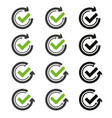flat icon graphical symbol movement vector image vector image