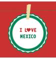 I lOVE MEXICO4 vector image