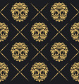 royal background baroque vector image vector image