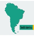 South America vector image