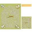 Toothpaste Maze Game vector image vector image