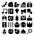 Celebration and Party Icons 7 vector image vector image
