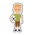 kid cartoon icon vector image vector image