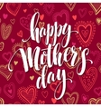 Mothers day hand letteringgreeting card vector image
