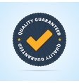 Quality guaranteed - tested badge vector image