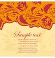 Template frame Abstract background vector image