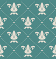 floral royal vintage background pattern vector image