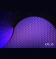 abstract dark background made petals in violet vector image vector image