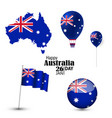 australia national day vector image