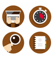 Flat icon for web design vector image vector image