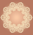 floral ethnic ornamental vector image