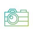 photographic camera flash button lens social media vector image vector image