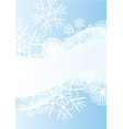 Snowflakes abstract blue backdrop