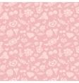 Sweet Pink Valentine Pattern vector image vector image