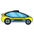autonomus car technology vector image vector image
