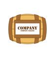 barrel-logo vector image