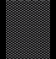 Black weave texture synthetic fiber geometric seam vector image vector image
