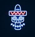 cinco de mayo mexican fiesta holiday poster vector image vector image