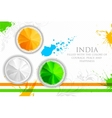 Colors of India vector image