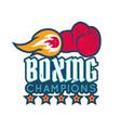 vintage sport emblem vector image vector image