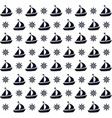 ship boat nautical design isolated vector image