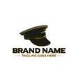 army cap logo vector image vector image