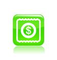 cash icon vector image vector image